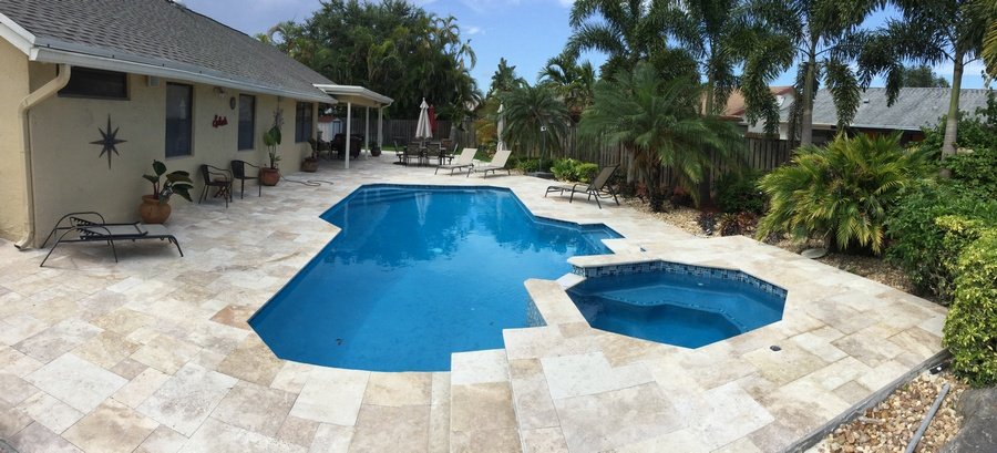 Travertine Pavers All Seal Exteriors