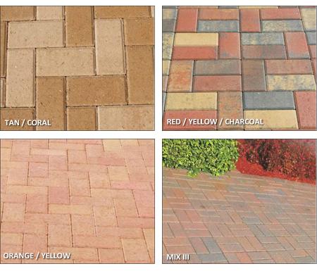brick 4×8 colors