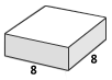 8×8 stone plaza