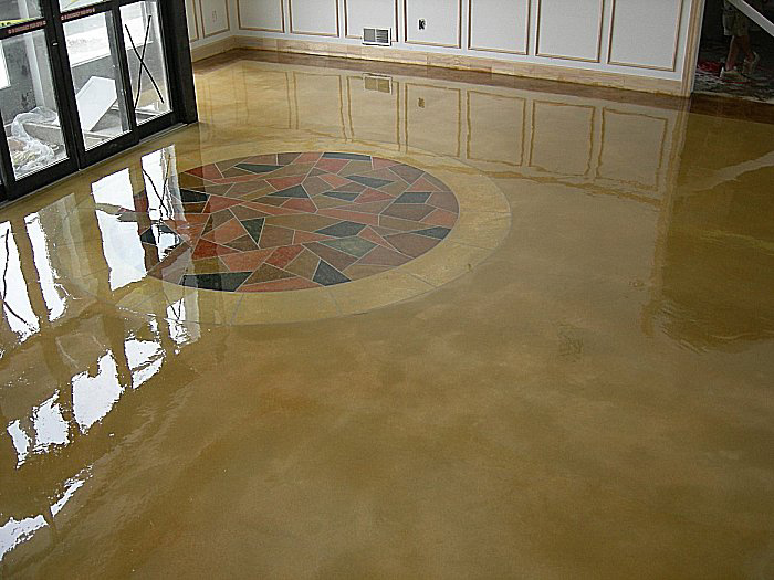 concrete floor finishes