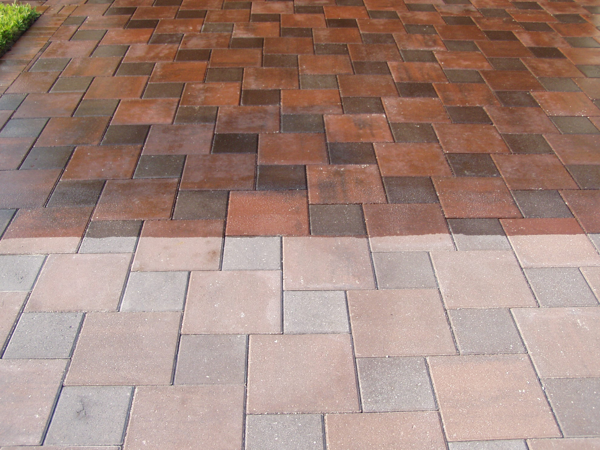 How To Clean New Patio Pavers Modern