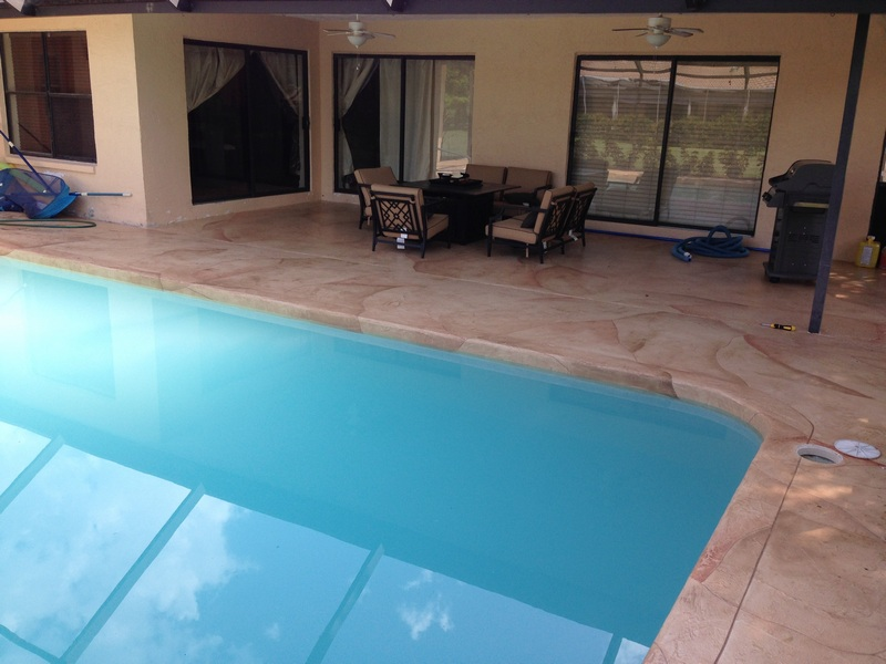 Pool Coping All Seal Exteriors