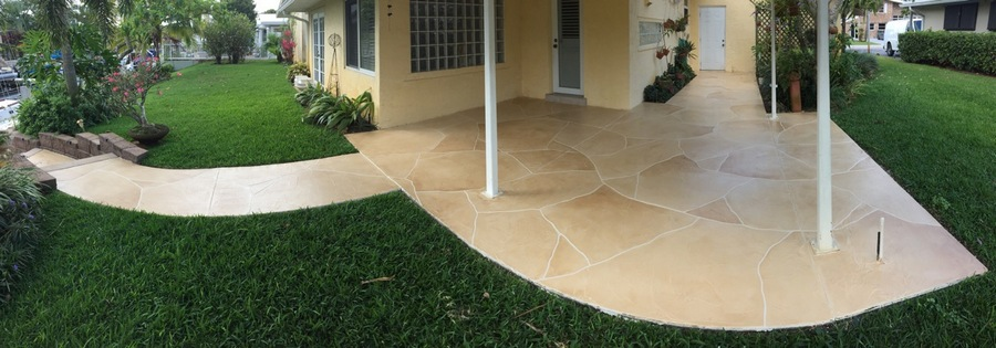Eurotile Walkway 180 degrees